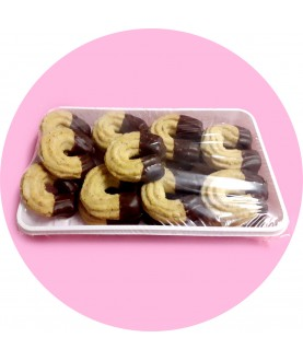 Vaflové rohlíčky máčené 200 g - Cukrárna SUM